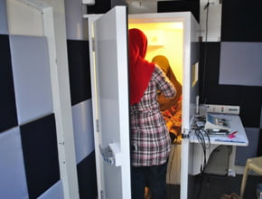 Hearing test room