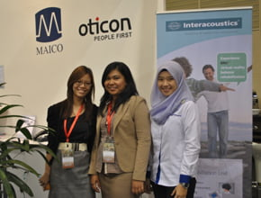 oticon exhibition photo