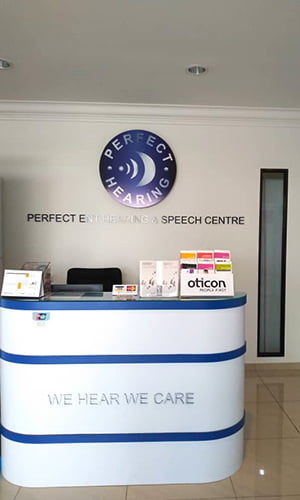 Perfect Hearing front desk