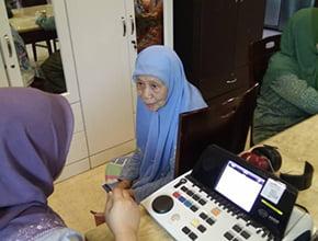 hearing test at Darul Insyirah 1