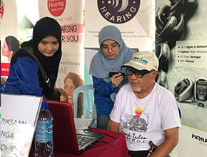 hearing test campaign to public