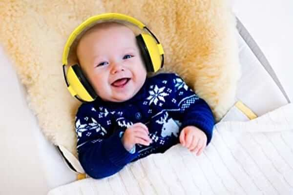 Noise Cancelling Baby Ear Protection Earmuffs