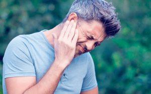 man ear not feeling well