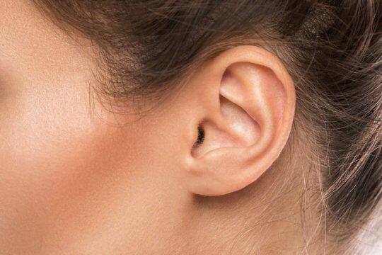 left ear