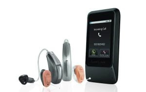 hearing aid connected to bluetooth