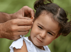removing hearing aid