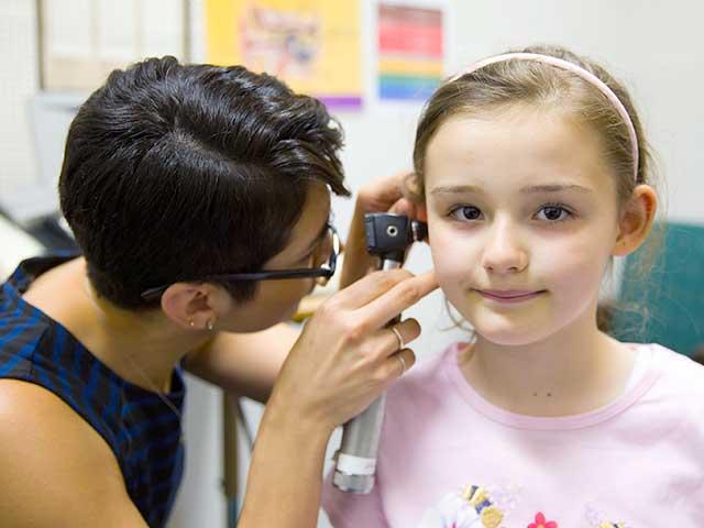 hearing test for preschooler girl