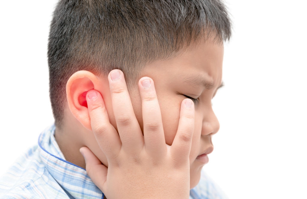 kids with ear infection