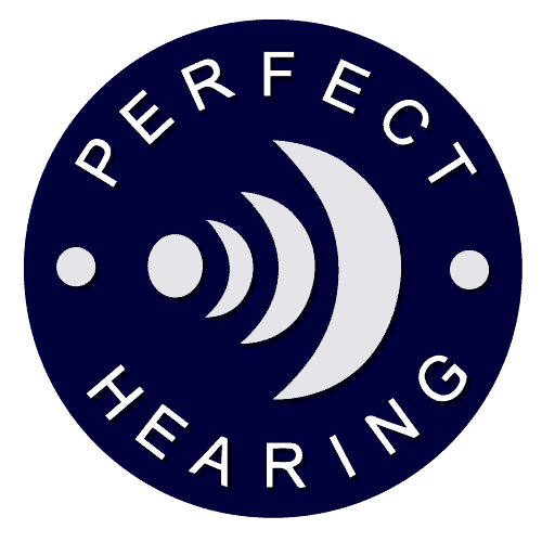Perfect hearing transparent logo